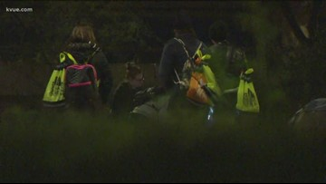 Volunteers conduct Austin's homeless count