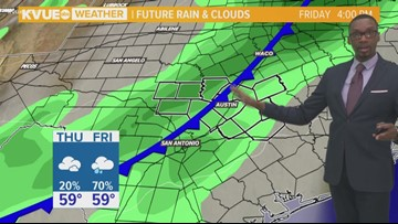Mainly cloudy Thursday, near average temperatures
