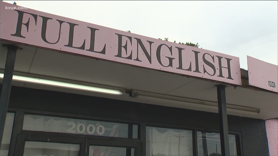 Full English in South Austin permanently closing