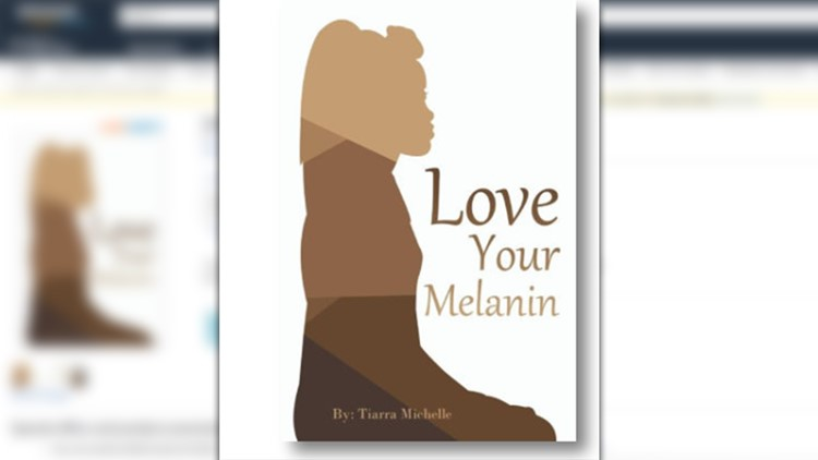 The book, which is sold on Amazon for $10, encourages people to love the skin they're in and embrace their beauty.