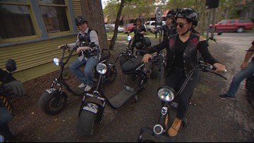 Daybreak Adventures: Cruising with Your Biker Gang through the streets of Austin