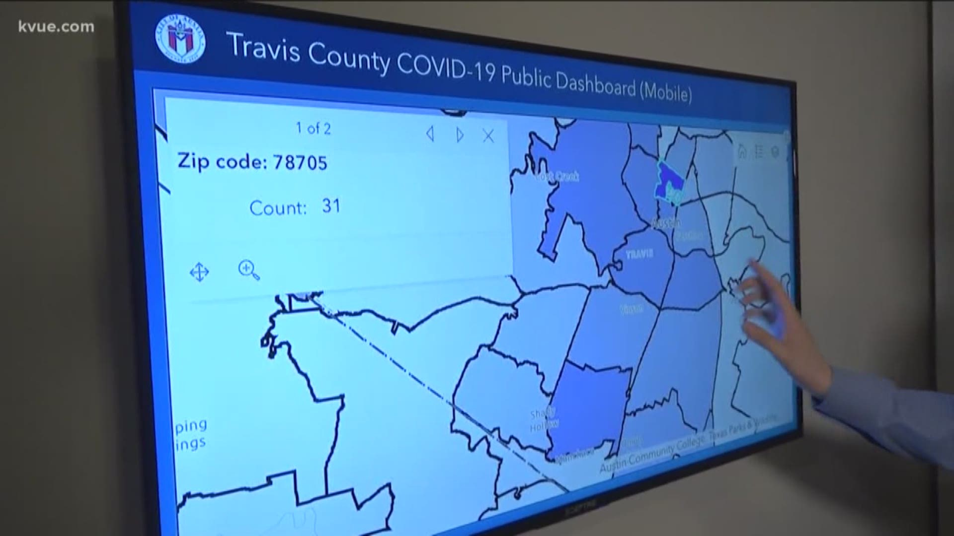 Coronavirus How To Find How Many Cases Are Near You Kvue Com