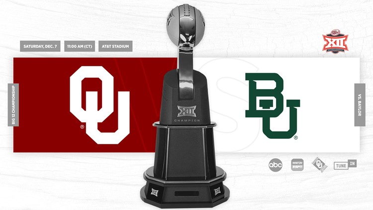 Big 12 Championship: No. 6 Oklahoma vs. No. 7 Baylor to air on KVUE! Here's why Austinites, Longhorns fans should watch.