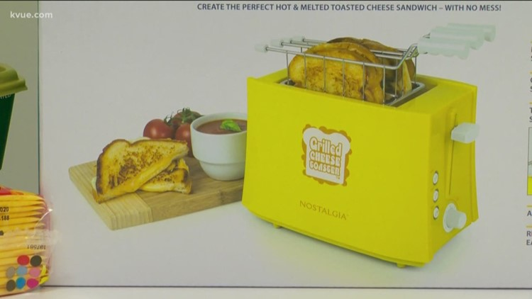 Does It Work: Nostalgia Grilled Cheese Toaster