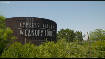 Albert's Texas Treasures | Cypress Valley Canopy Tours
