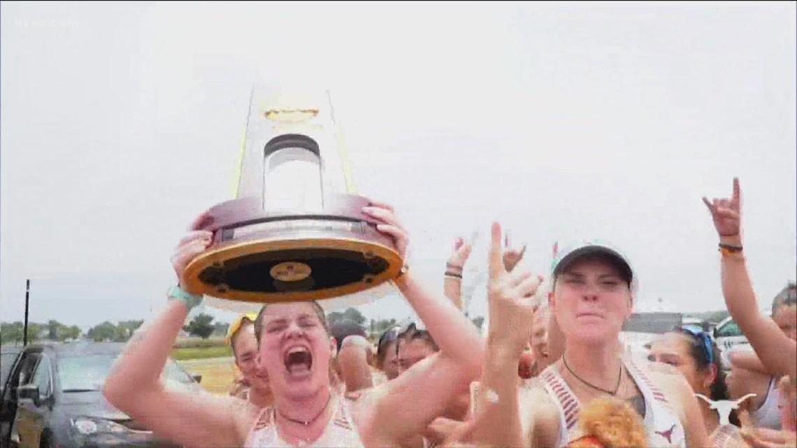 McConaughey congratulates UT national champs