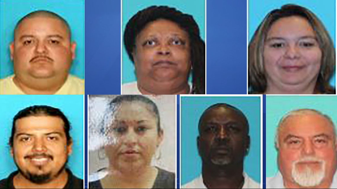 DPS identifies 7 suspects accused of fraud at Travis County Tax