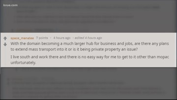 City of Austin uses a Reddit 'Ask Me Anything' to help answer questions on the Strategic Mobility Plan