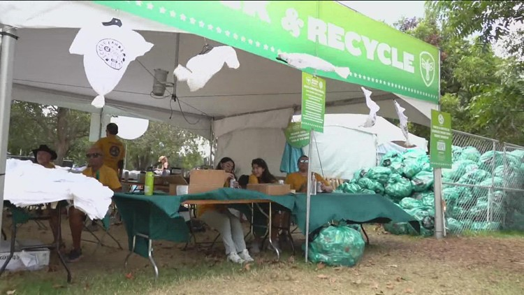Final day of ACL Fest 2021: Keeping Zilker Park beautiful