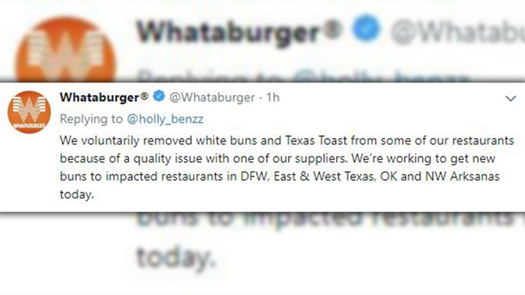 What-a-bummer: Whataburger pulls white buns from stores