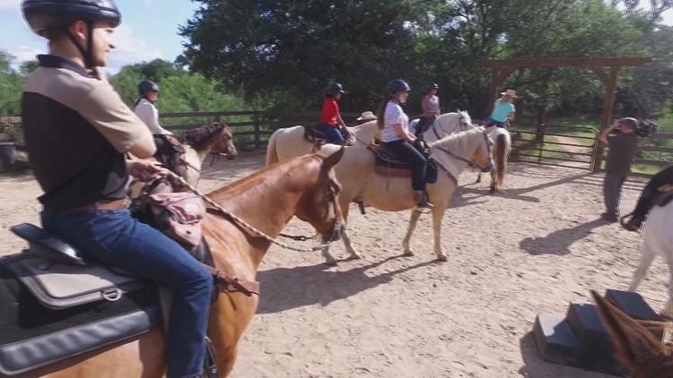 Daybreak Adventures: Of course we're riding horses in Bastrop County