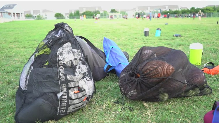 Thief steals trailer filled with youth sports equipment