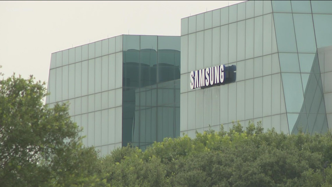 Samsung eyes Taylor for $17B expansion