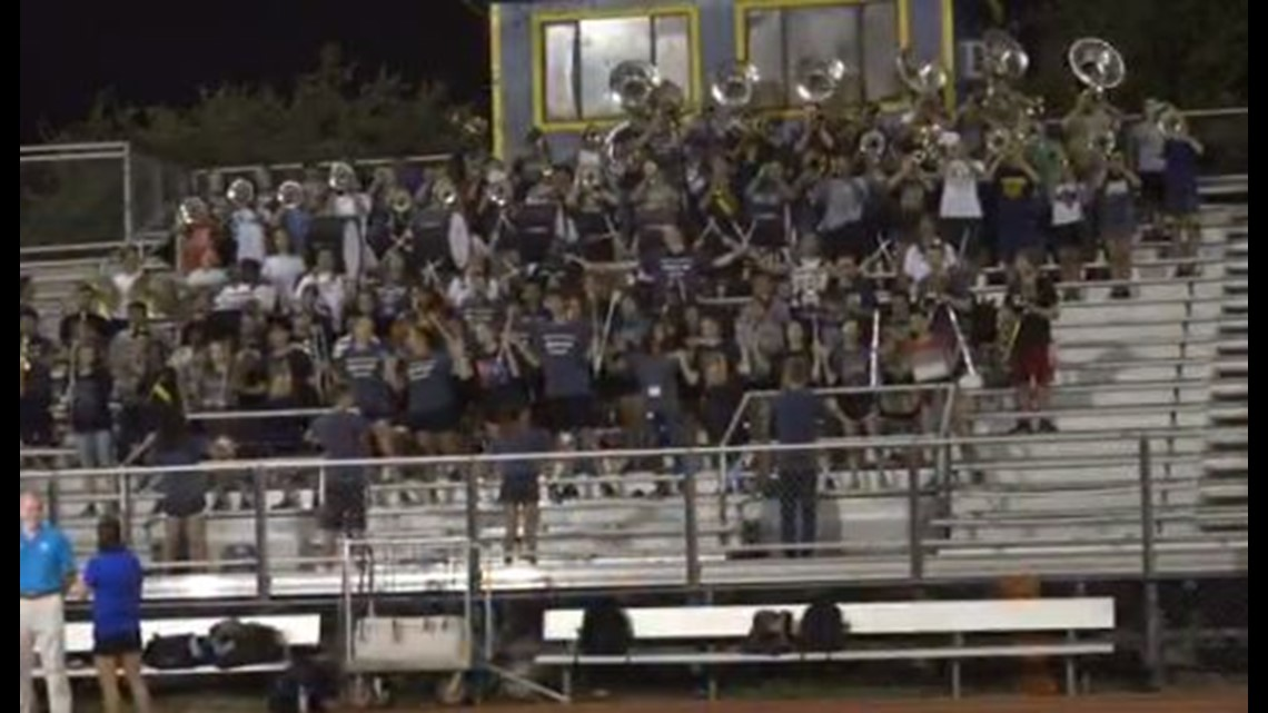 Stony Point High Schools Tiger Nation Hosts Daybreak Pep Rally