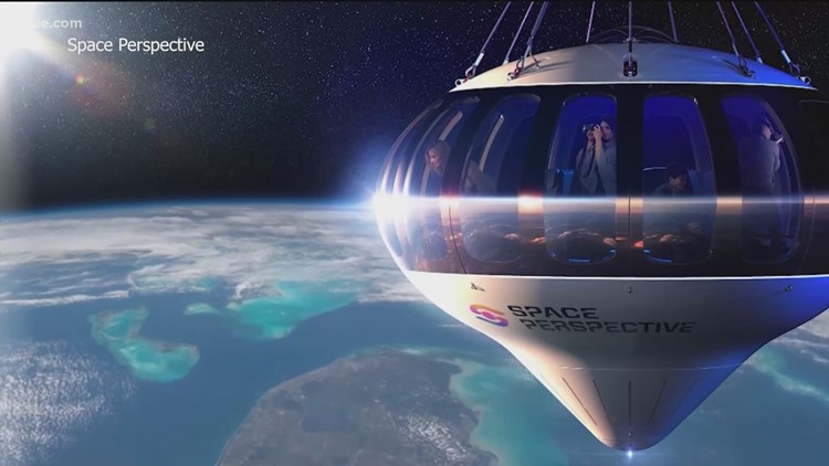 Space Perspective offering day trips to space starting in 2024