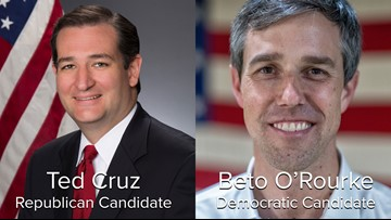 Ted Cruz and Beto O'Rourke face off in first debate for Texas Senate
