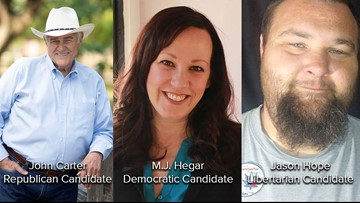 Military hero M.J. Hegar to face U.S. Rep. John Carter in District 31 race