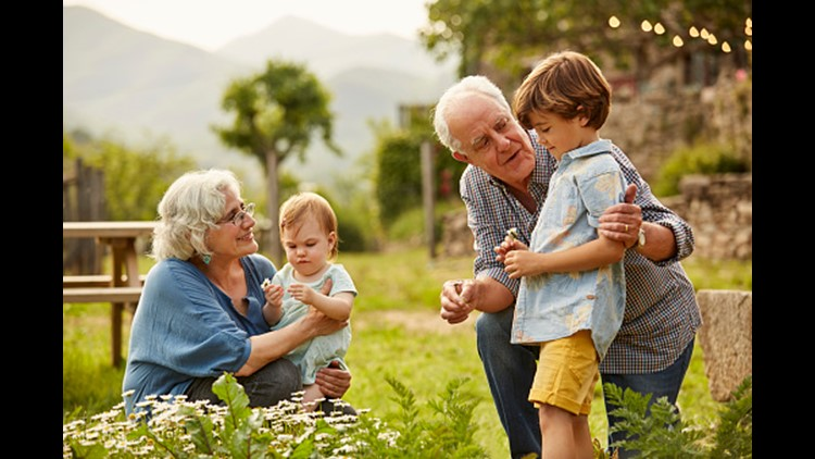 Texans love their grandparents more than most of the U S
