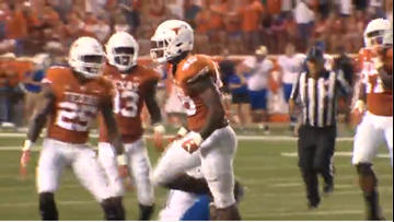 Culture changing plays is one reason the Longhorns earned a Sugar Bowl berth