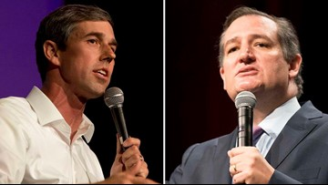 Senate candidates Beto O'Rourke, Ted Cruz holding campaign events in Central Texas