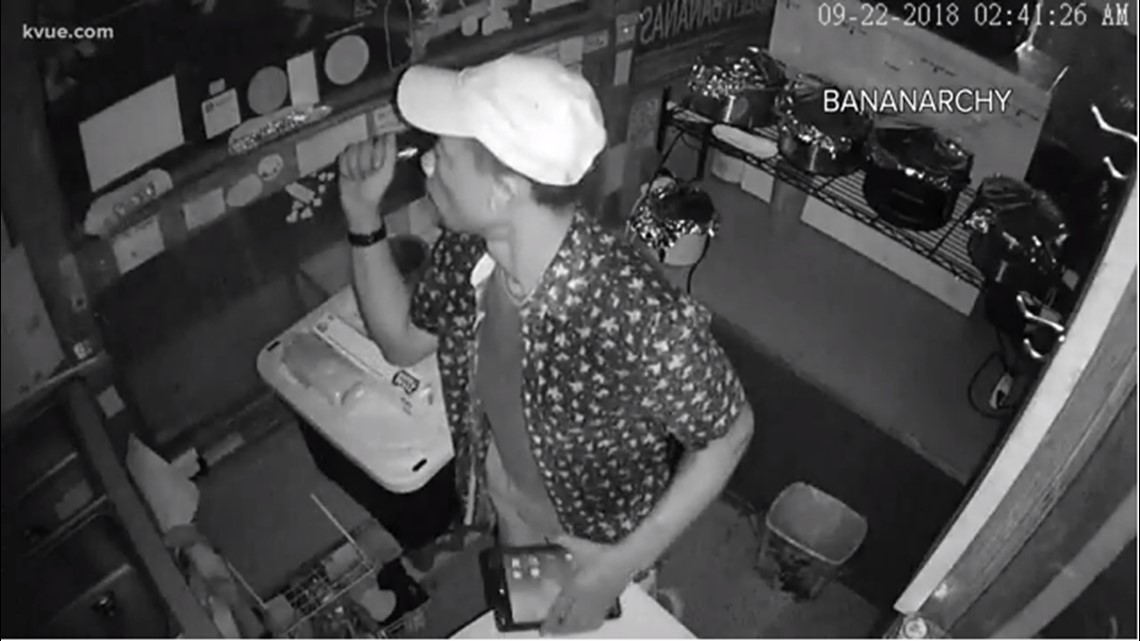 String of Austin food truck break-ins leaves owners searching for suspect
