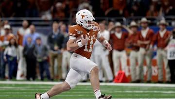 Ehlinger leads Texas' Alamo Bowl romp over No. 11 Utah 38-10
