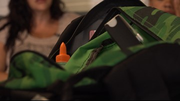 Homeless families, students stress the importance of school supply drives