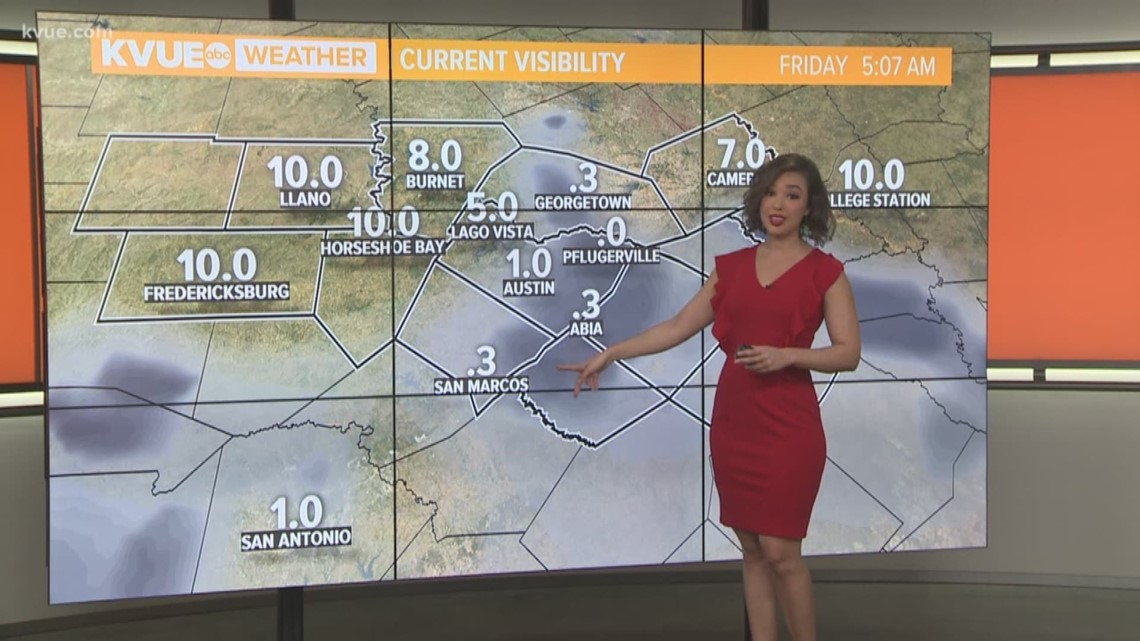 FORECAST: Dense fog advisory until 10 a.m. this morning