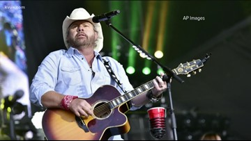 Country singer Toby Keith coming to Cedar Park