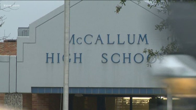Letter stating vaccines are required for McCallum High School athletes sent in error, district says