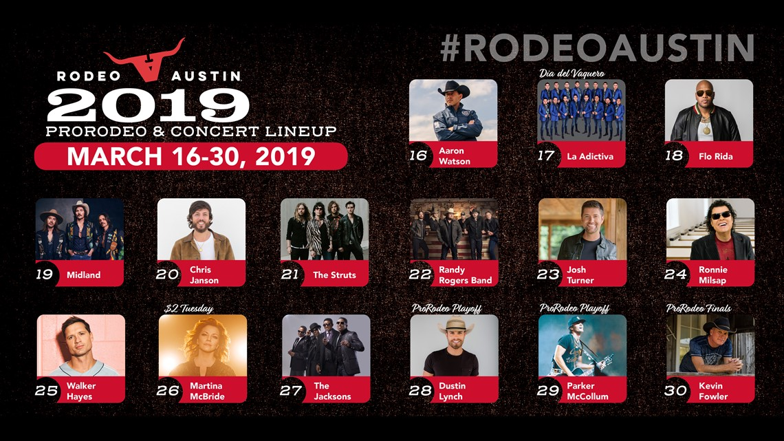 Rodeo Austin Announces 2019 Music Lineup Kvue Com