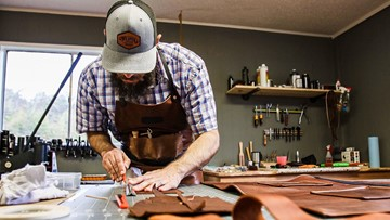 In Other News: Wimberly man quits job with 6-figure salary for leather