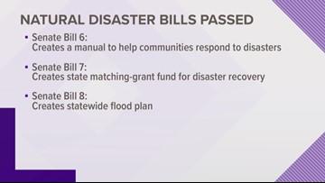 Texas Senate approves natural disaster bills