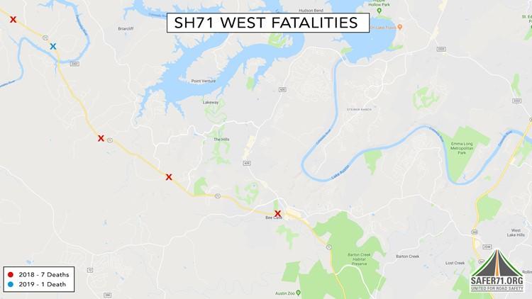 SH71 West Traffic Fatalities