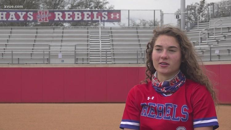 No longer broken: Megan Kelnar's return to Hays softball