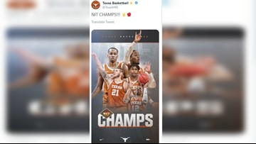 Texas wins the NIT Championship