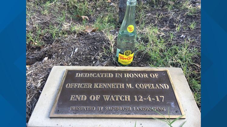 Kenneth Copeland plaque