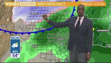 KVUE's Midday Forecast