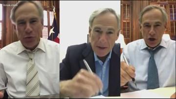 Gov. Greg Abbott signs, vetoes bills