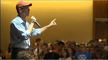 Beto O'Rourke hosts rallies at ACC, UT-Austin as part of college campus tour