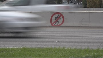 TxDOT paints warning signs in hopes of preventing pedestrian deaths