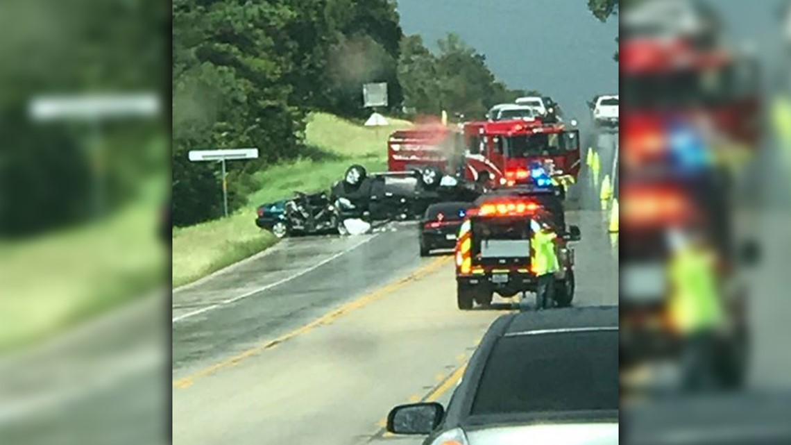 Authorities identify four people killed in major crash on SH 95 in