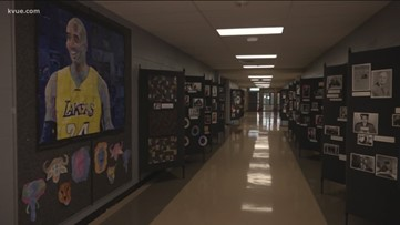 Manor ISD students pay tribute to Kobe Bryant, African American leaders with Black History Museum