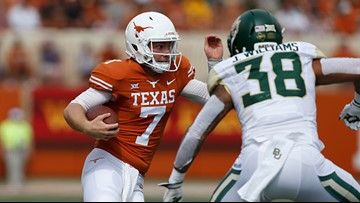 Texas Longhorns quarterback Shane Buechele transferring to Southern Methodist University