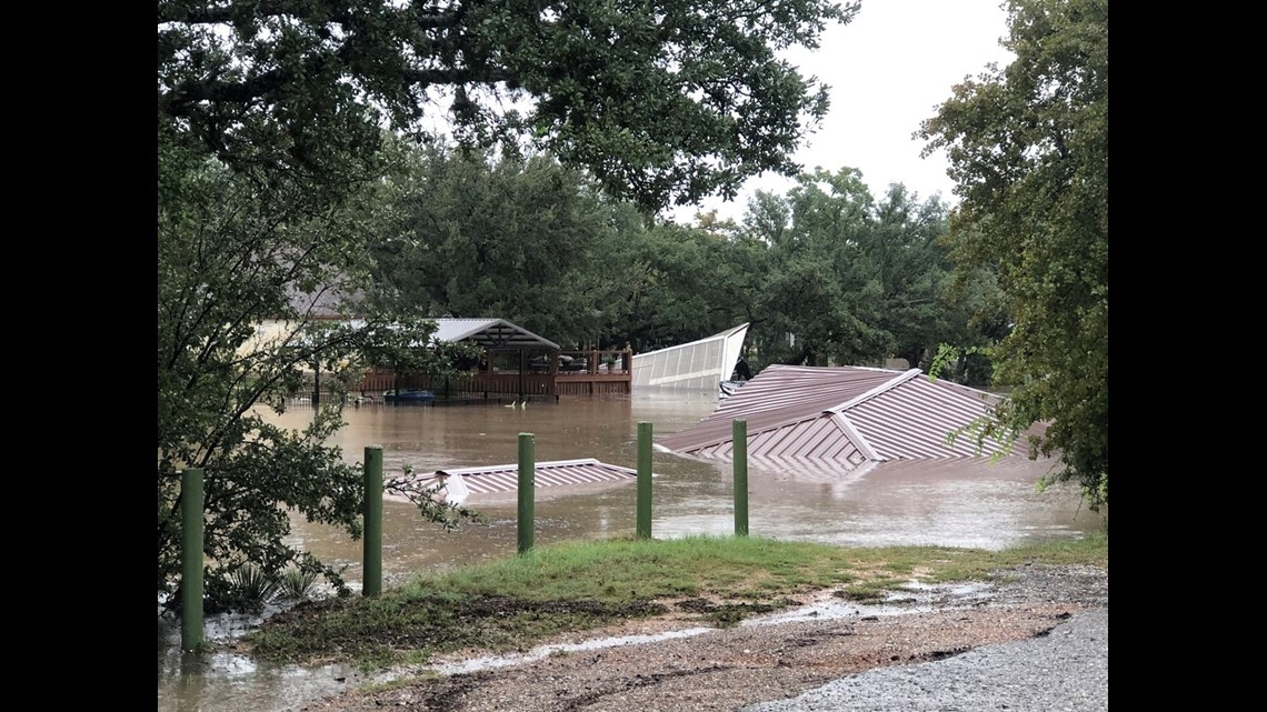 Photos And Video From Llano River Flooding Kvue Com