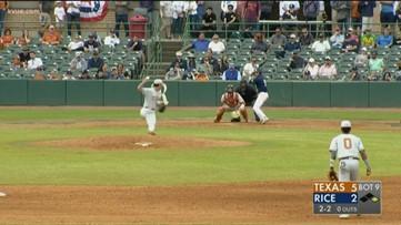 Texas Longhorns baseball open 2020 season with series sweep of Rice Owls