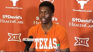 Texas Longhorns' Andrew Jones opens up about battle with leukemia