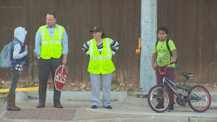 Take This Job: Keeping kids safe as a Leander ISD crossing guard