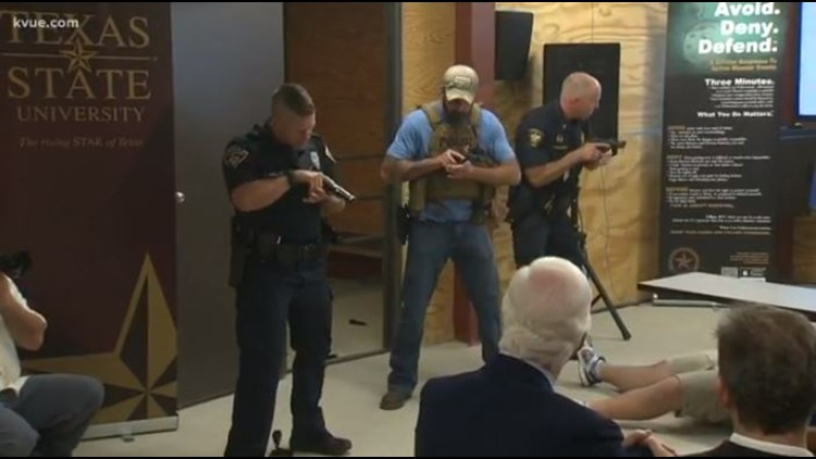 Texas State University ALERRT Center receives $9.8M for first responder active shooter training