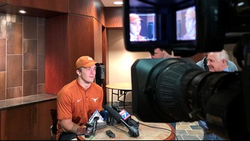 It's just 'extra noise' | Tortillas and Horns down aren't distracting the Texas Longhorns